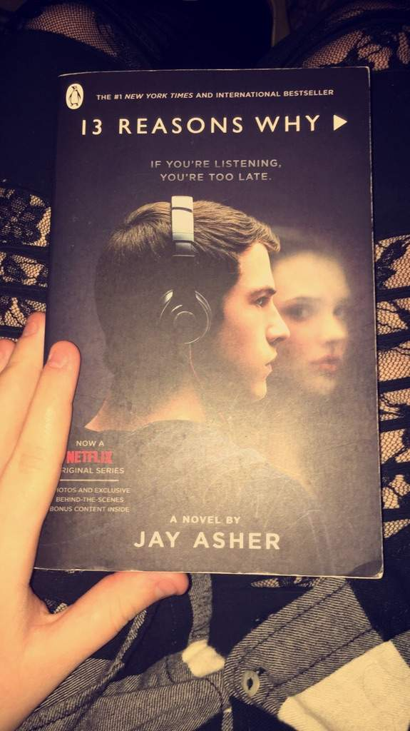 13 Reasons Why Novel By Jay Asher 13 Reasons Why Amino