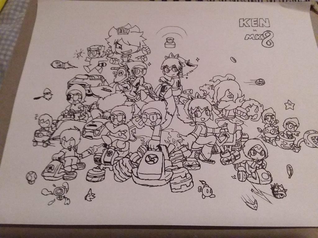 Mario Yo Kai Crossover Quick Sketch Yo Kai Watch Amino
