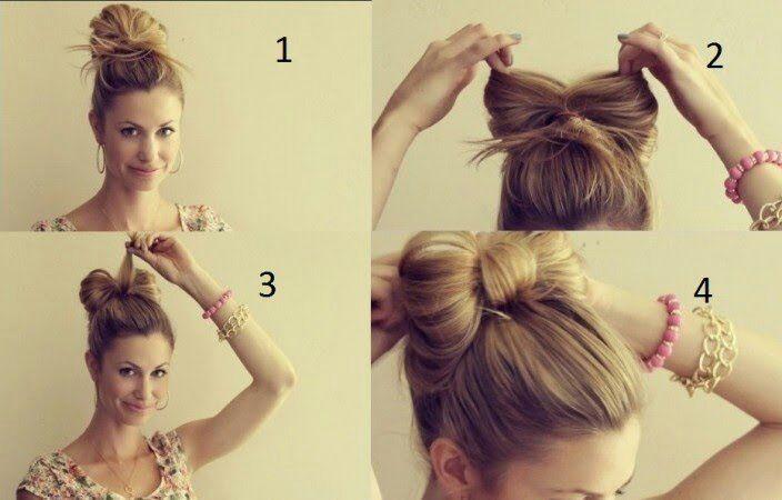 Peinados Faciles Rapidos Bonitos Y Sencillos Para Cuando Tienes