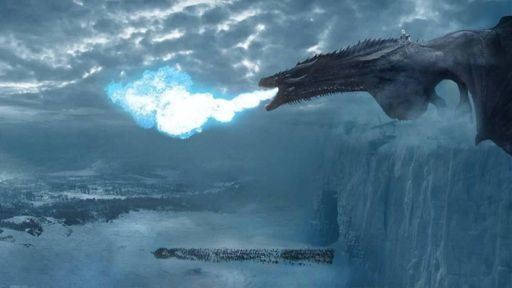 Resultado de imagen para viserion dragon de hielo