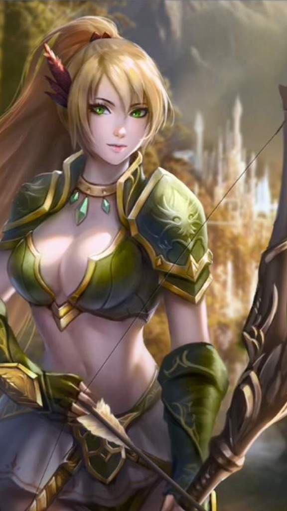Laurana [ Elven Cleric ]   Dungeons & Dragons (D&D) Amino