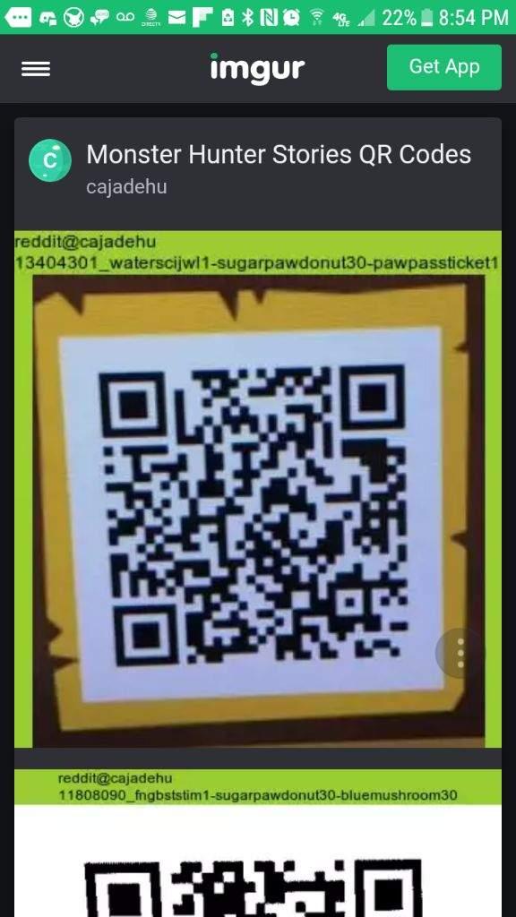 Treasure Trove Of Mh Stories Qr Codes Monster Hunter Amino