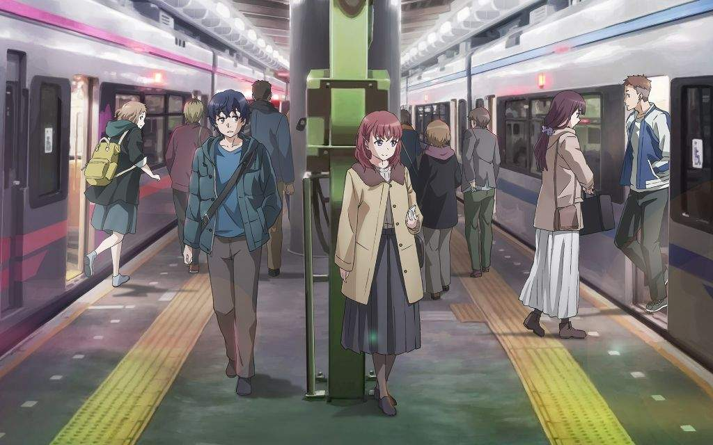 Just Because Is A Solid Entry To The School Romance Genre And One Of Better Anime Air In 2017