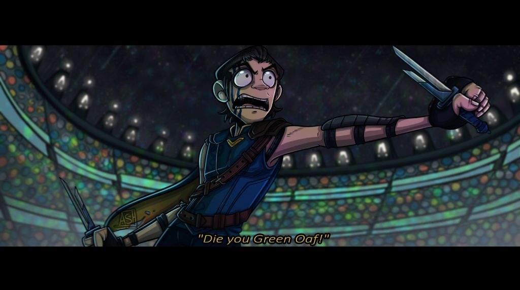Loki Gladiator Au Thor Ragnarok Fanart Animation Art Map Amino