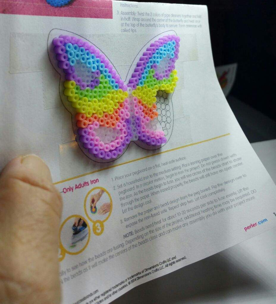 how to make perler beads without an iron