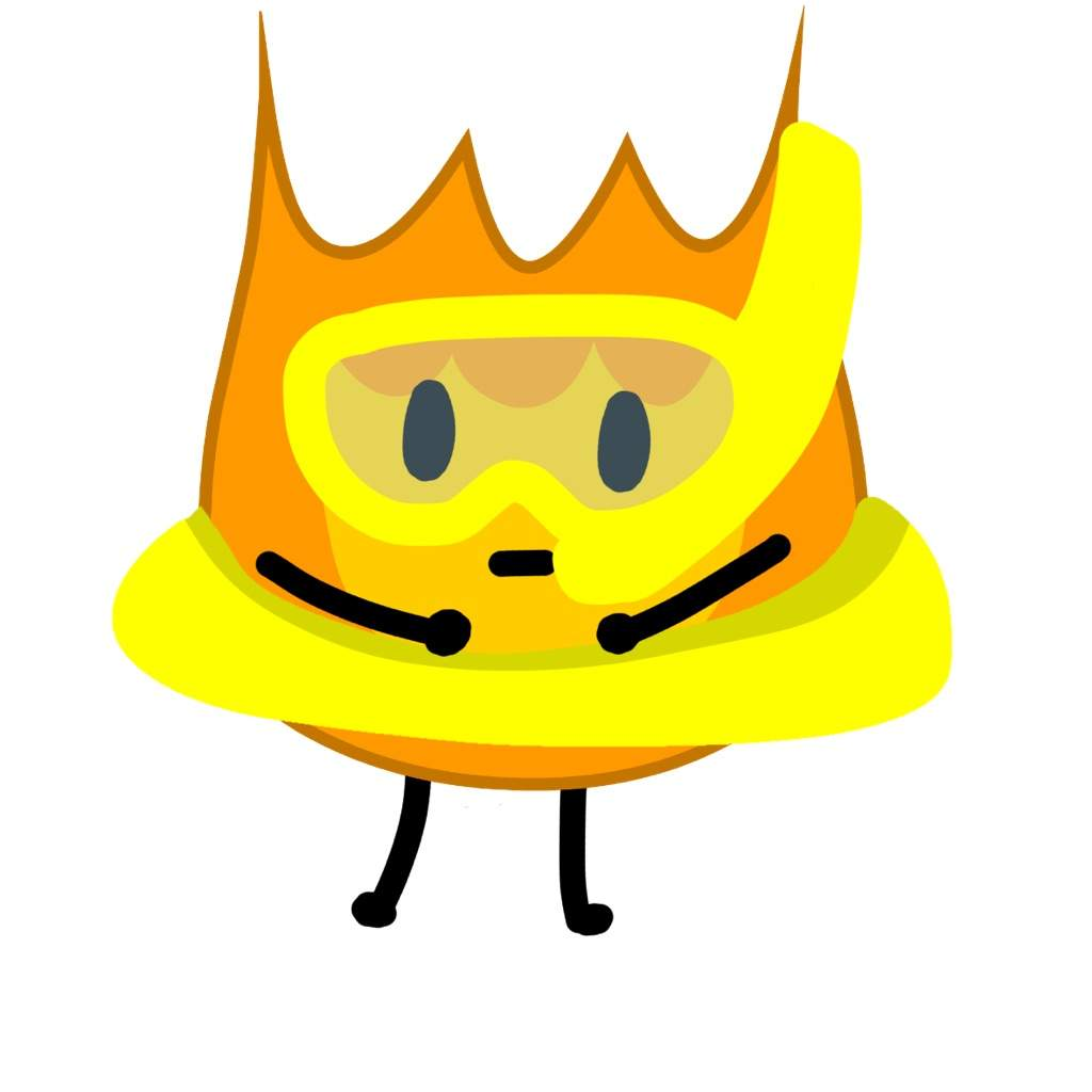 Ready to go swimming (with Firey's asset) | BFDI💖 Amino