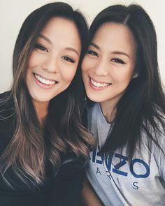 Female asian twins