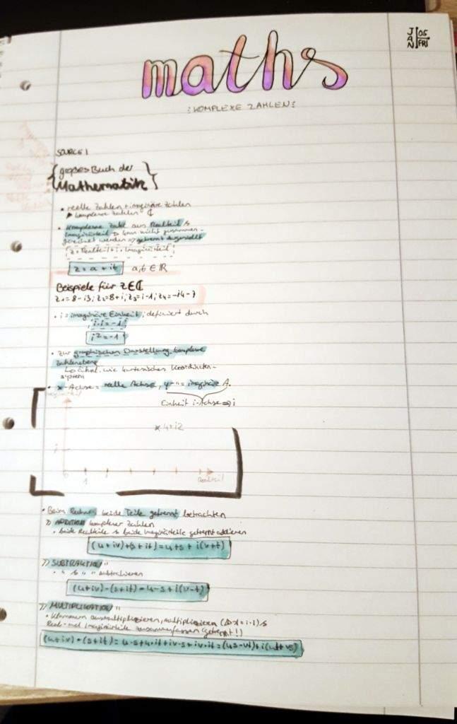 Note-time! {maths & physics}   Studying Amino Amino