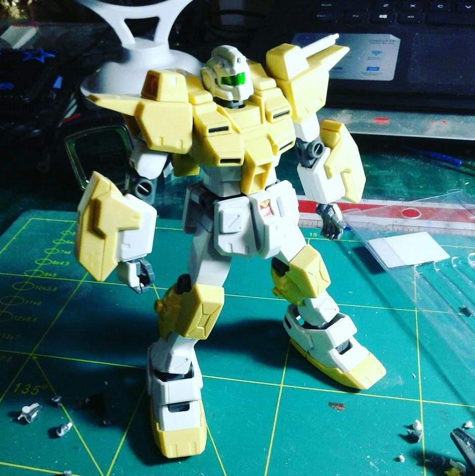 Powered Gm Cardigan Wip Gundam Amino