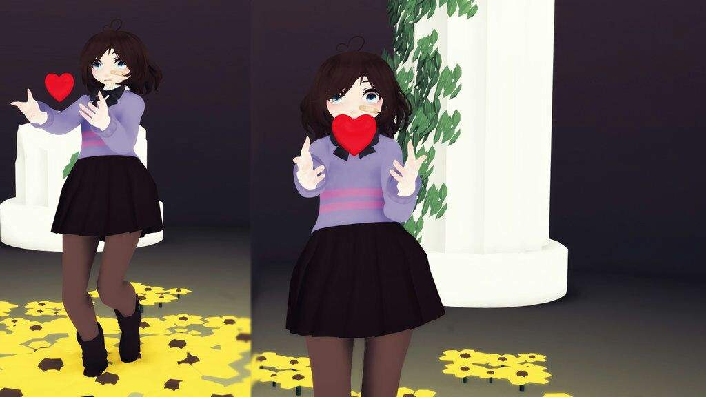 Frisk For Undertale Movie Mmd Amino