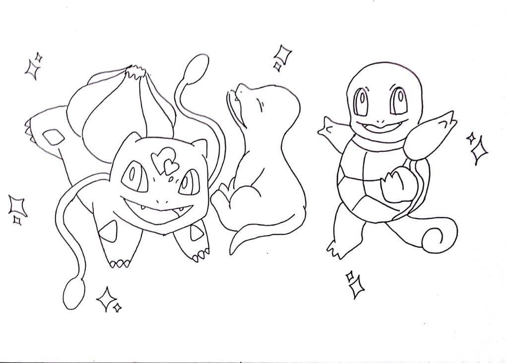 Fanart: Iniciales de Kanto Shiny (by Gelidopablo)   •Pokémon• En ...
