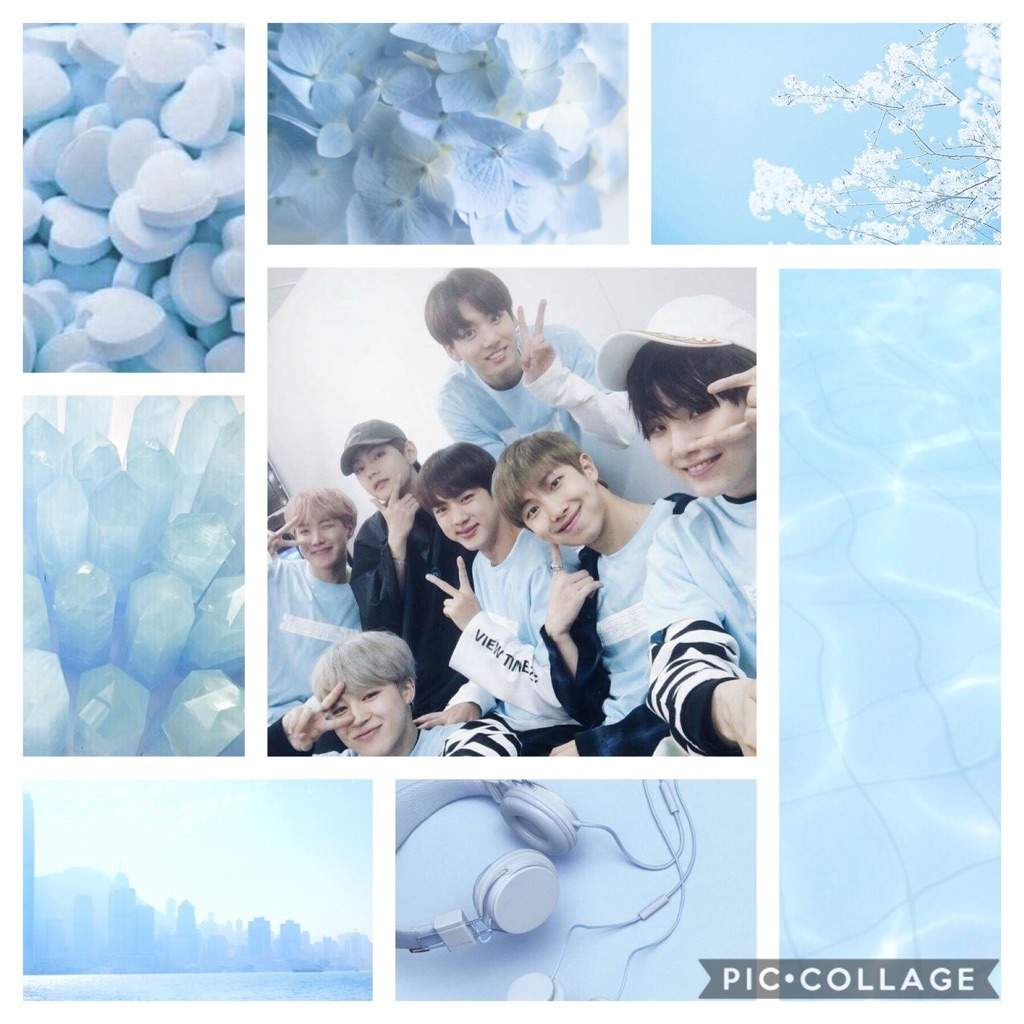 Light Blue Bts Cosmun