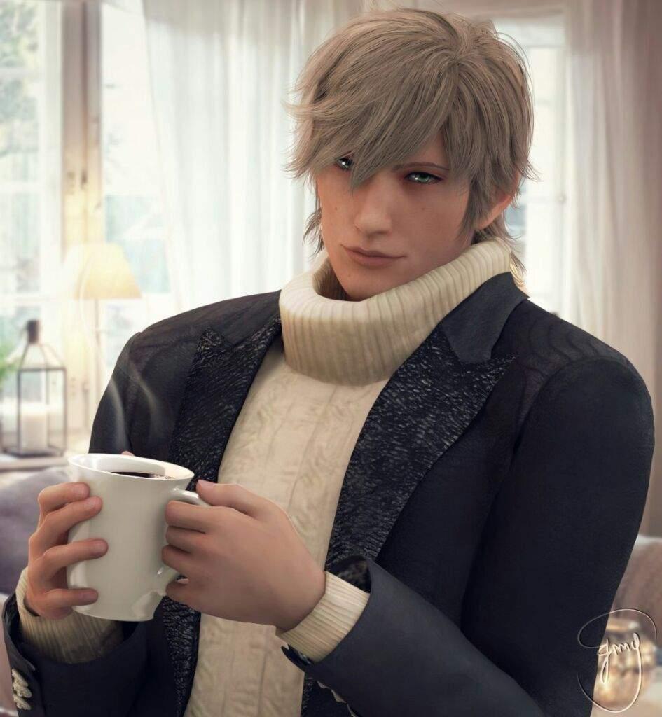 Ebony coffee final fantasy