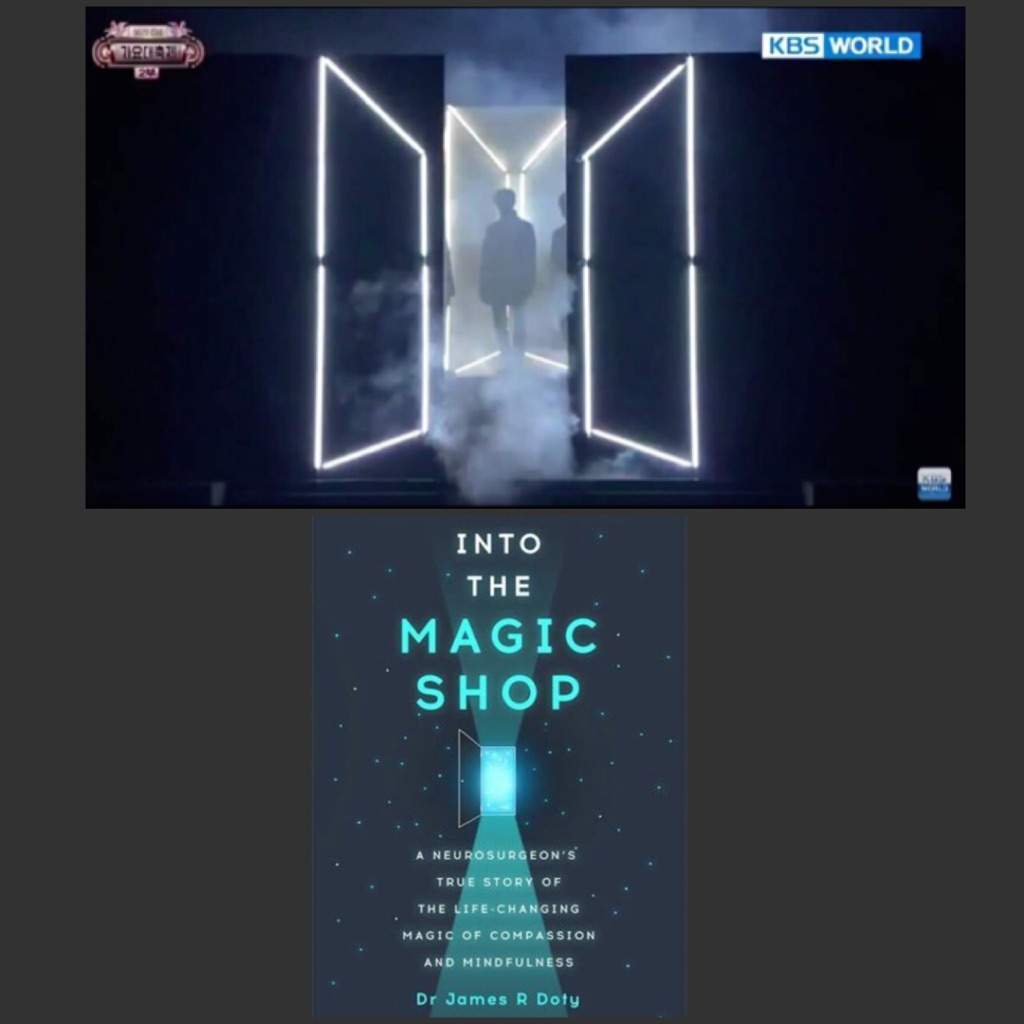 Analyzing Connections Between Bts And The Magic Shop Book