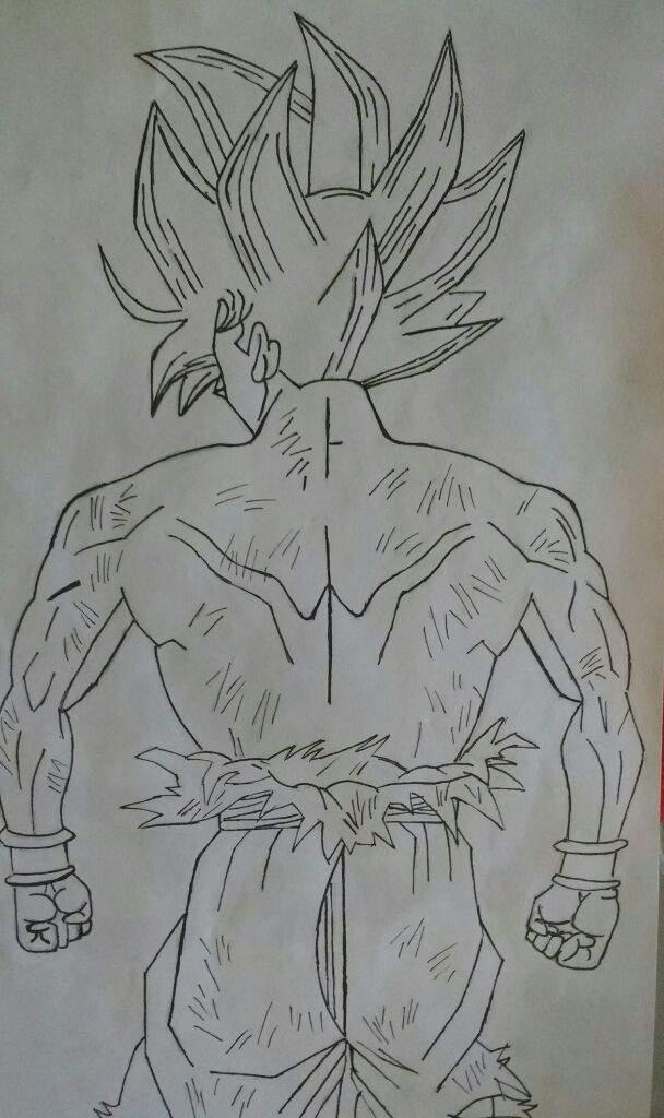 Goku Ultra Instinto Dibujarte Amino
