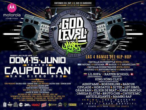 Resultado de imagen de god level fest 2014