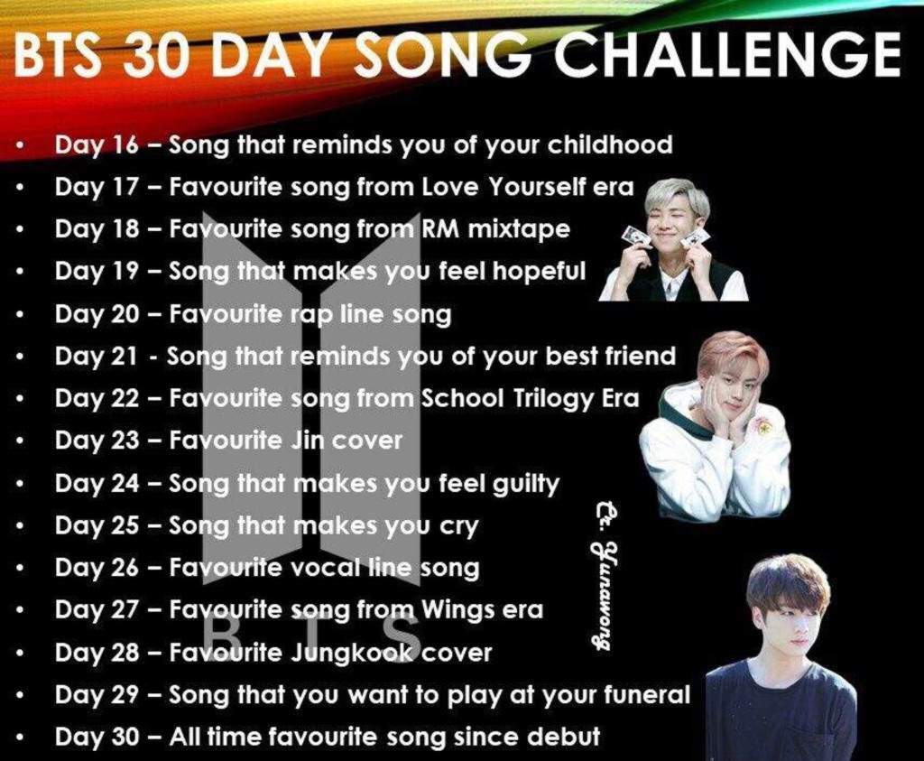30 Day Song Challenge Day 18 Armys Amino