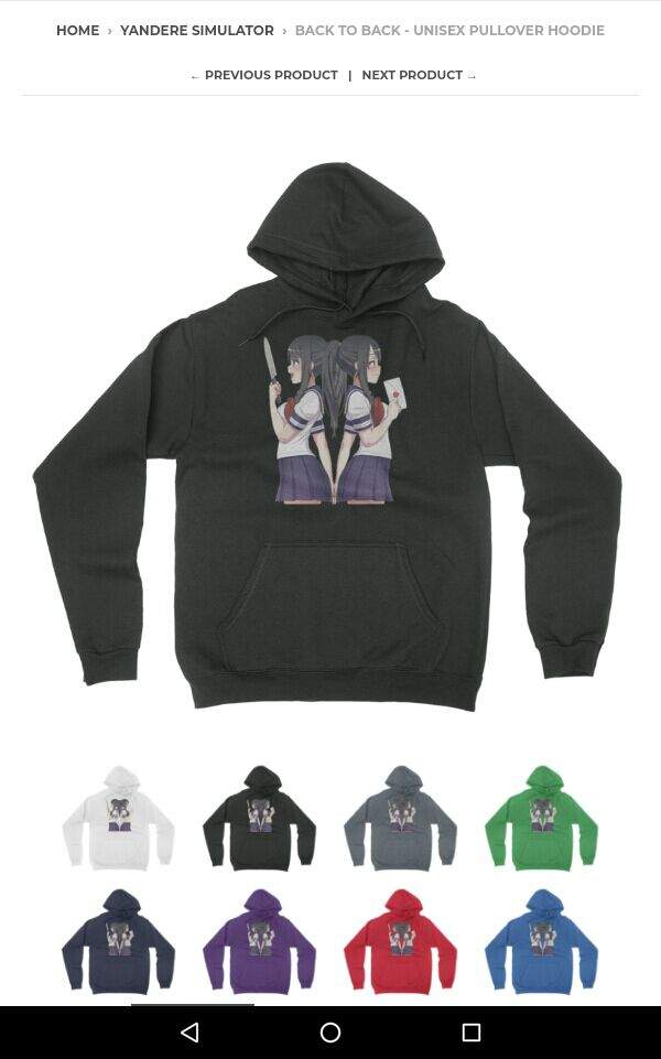10c558e9c15 My Yandere Simulator sweater!!!!  3
