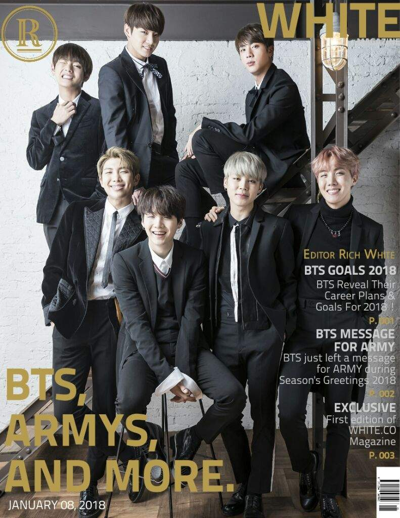 First Edition of White Magazine | ARMY's Amino