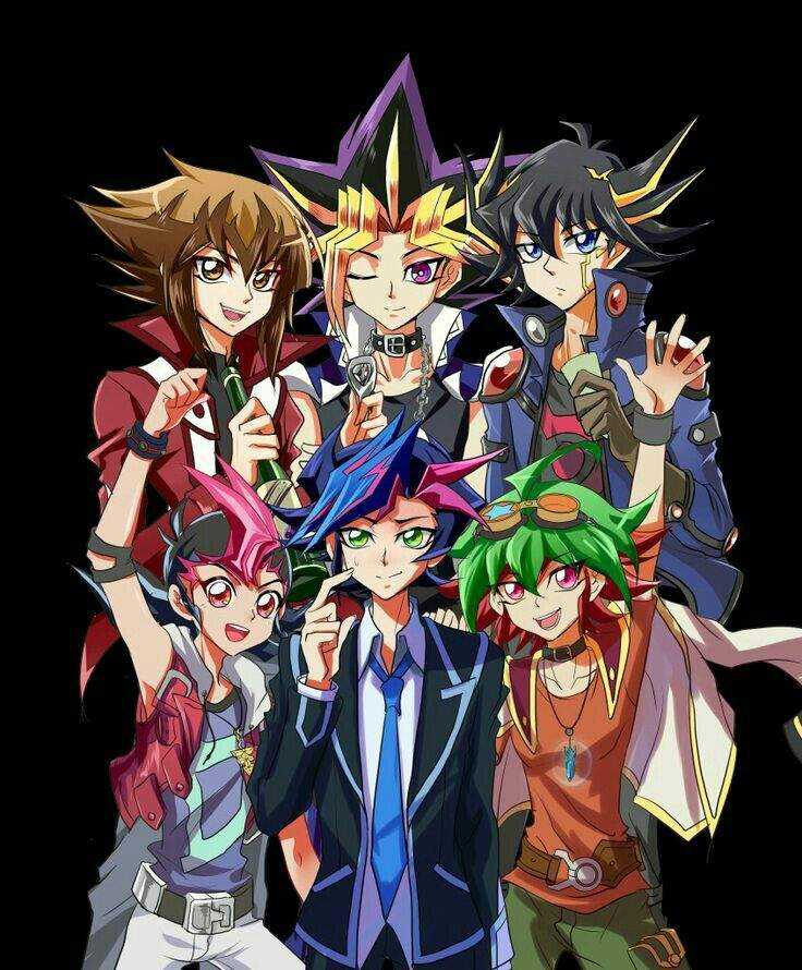 connection between yu gi oh series anime amino