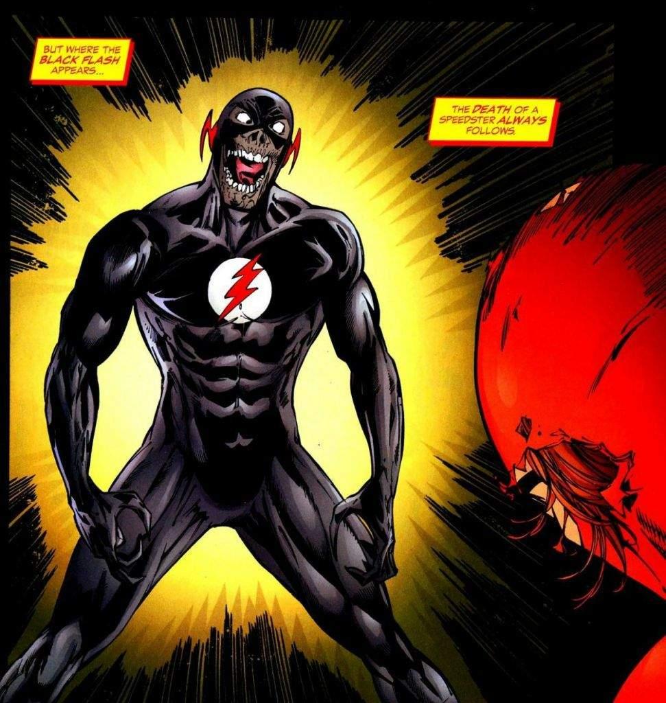 Black Flash Wiki The Flash Oficial Amino