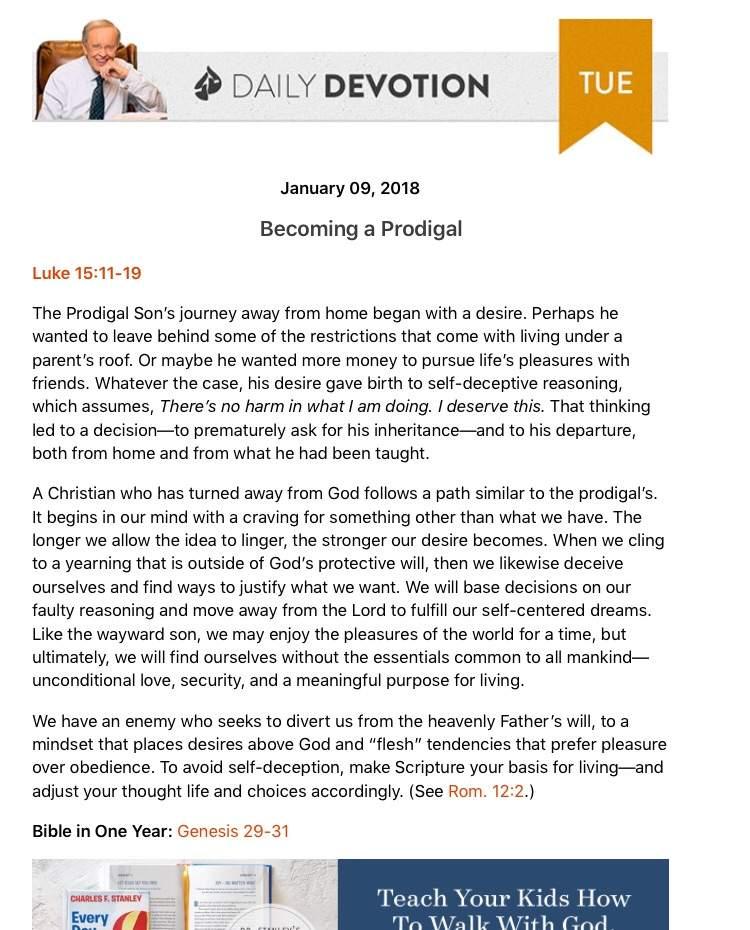 Daily devos!!! 1-9-18 | Christian (Genesis) Amino