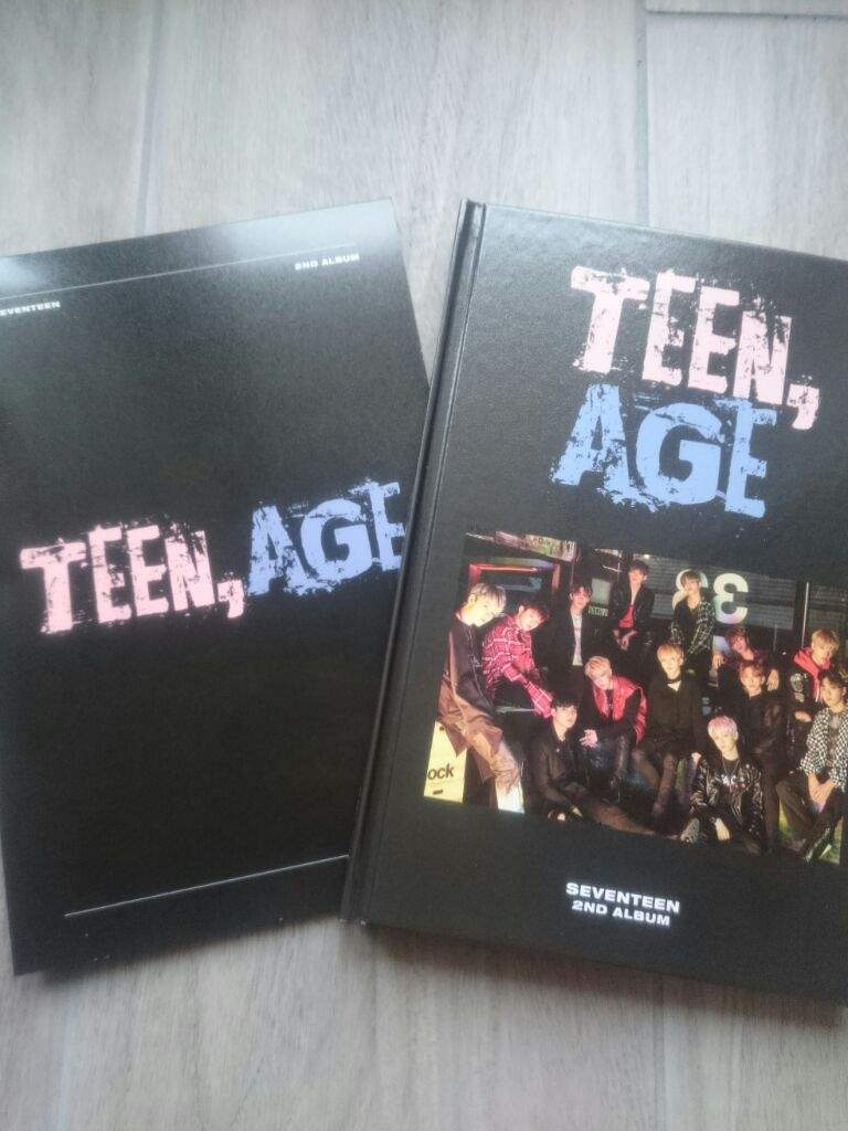 Teen Age Seventeen Unboxing Rs Version Carat Amino 2nd Album So Here It Is My