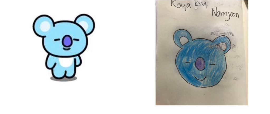 Drawing The Bt21 Characters K Pop Amino