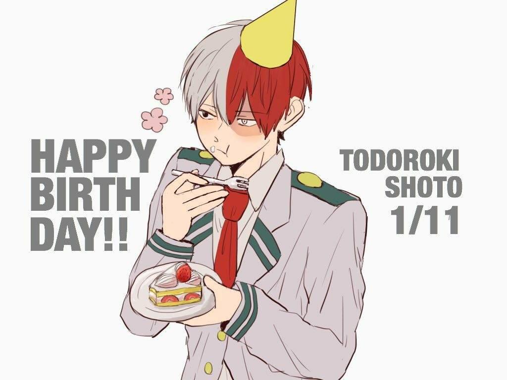 Happy birthday Todoroki | My Hero Academia Amino