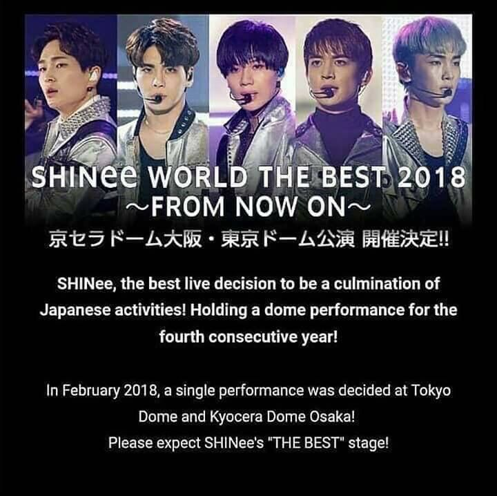 SHINEE World The BEST 2018-From Now On | 5HINee 「샤이니」 Amino