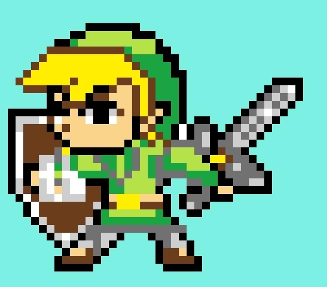 Link Pixel Art Nintendo Amino