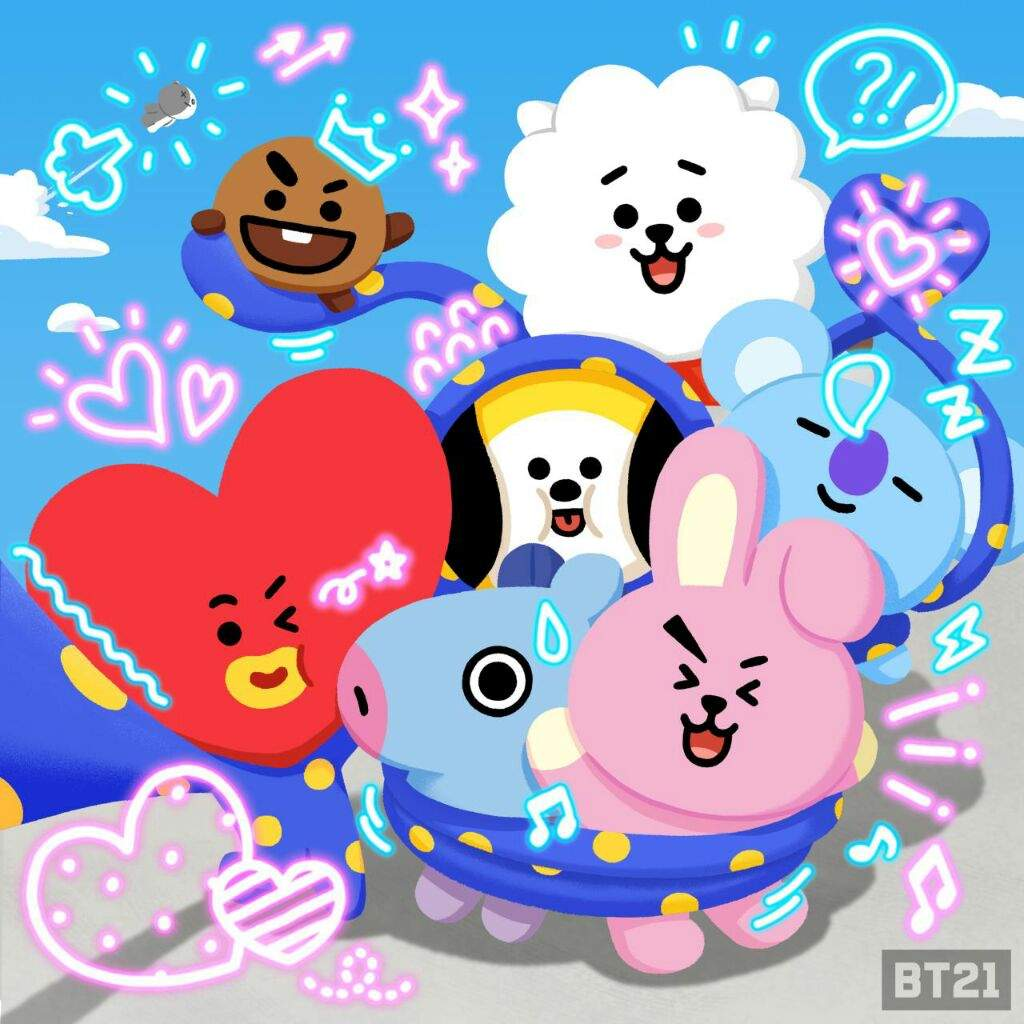 Bt21 Goes Online ⚠ Army S Amino