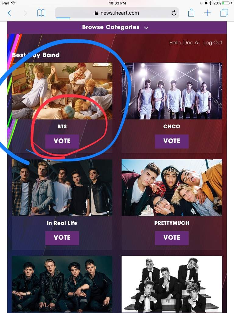 VOTE BTS for the iheart radio music award | ARMY's Amino