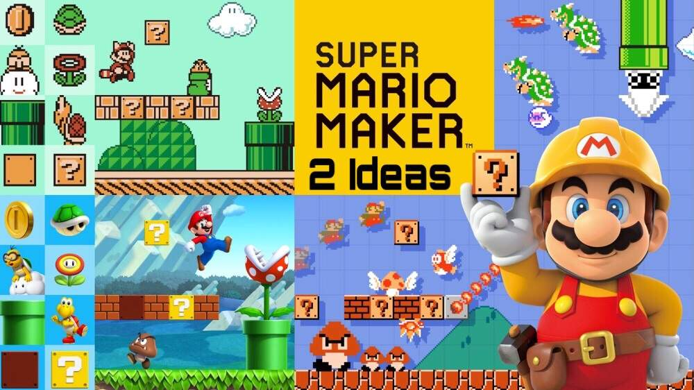 Super Mario Maker 2 Ideas Mario Amino