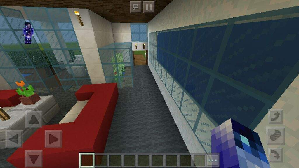 Decoracion de casa moderna por dentro minecraft amino for Decoraciones de casas por dentro
