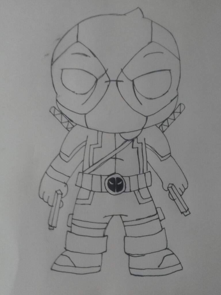 Deadpool chibi | Arte Anime Amino Amino