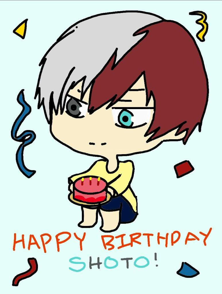Happy birthday Shoto Todoroki! | My Hero Academia Amino