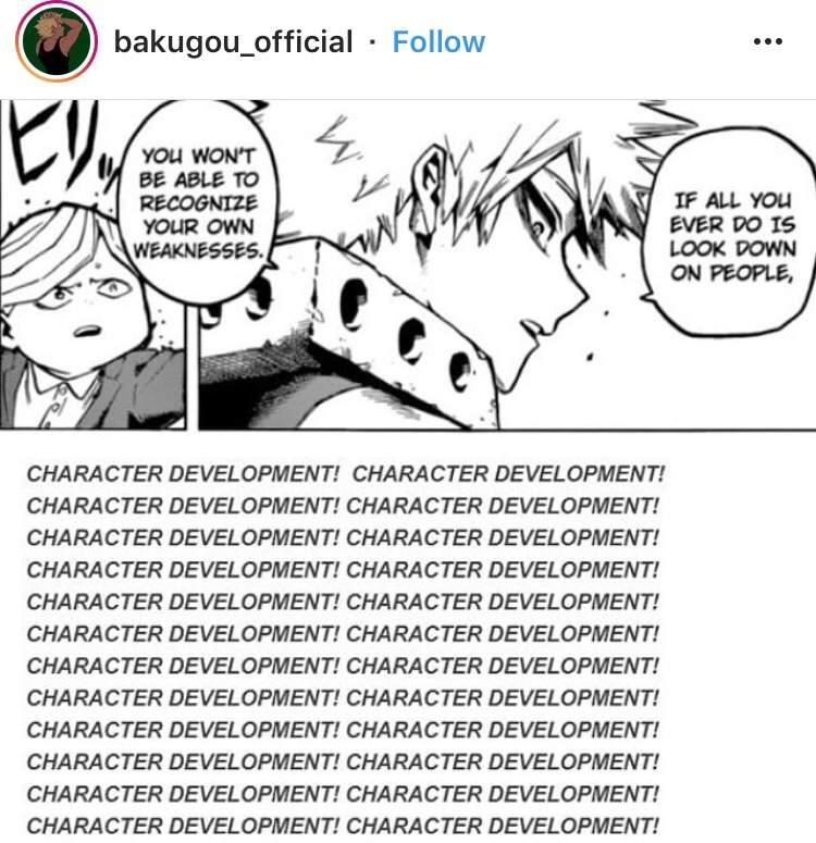 My Hero Academia Quiz: Bakugou Character Development!