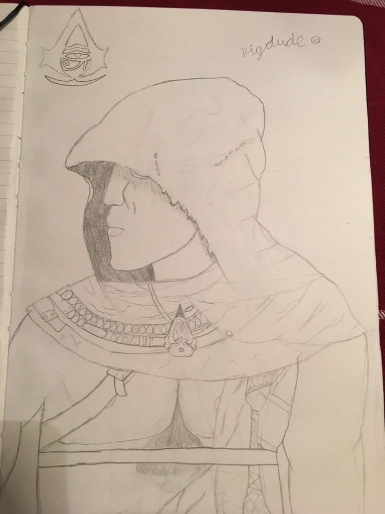 Bayek Drawing Assassins Creed Amino