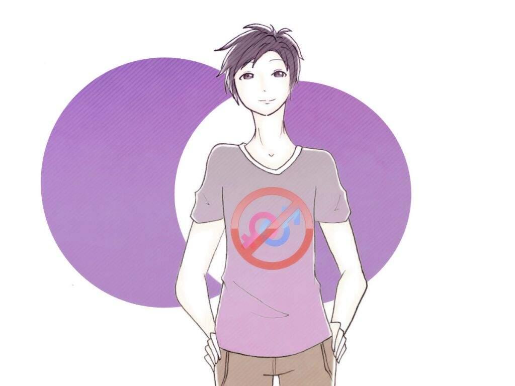 Una persona asexual es