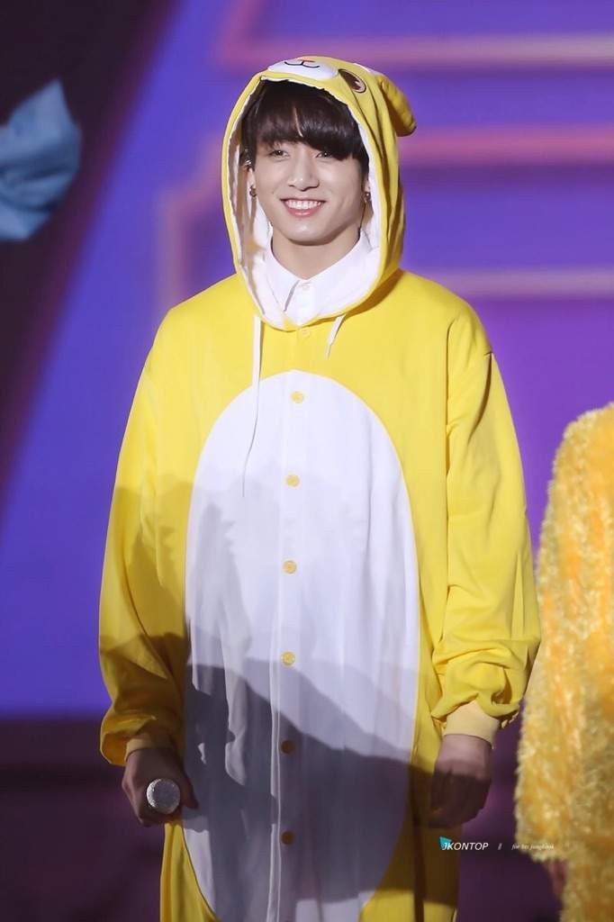 Yellow Bunny How Cute Jungkook Bts 4thmuster Army S Amino