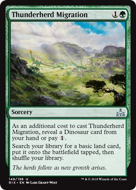Rivals Of Ixalan Draft Archetype Red Green Dinosaurs