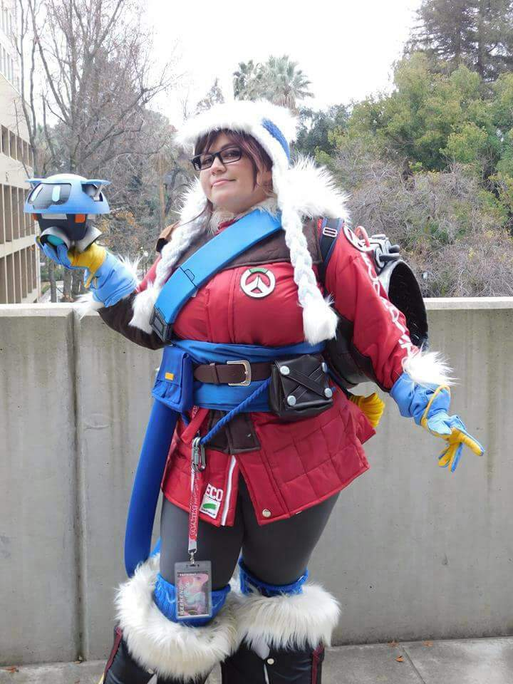 Ecopoint Mei Overwatch Cosplay Amino