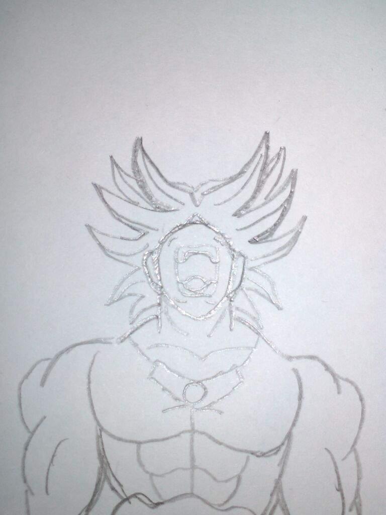 desenho do broly dragon ball oficial amino