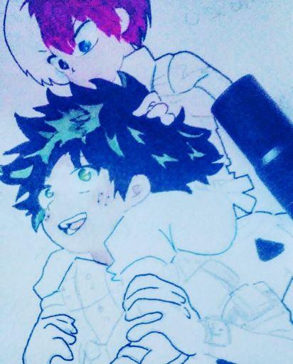 ω・)っTododeku Fluff!! (Happy Birthday Todobabe)