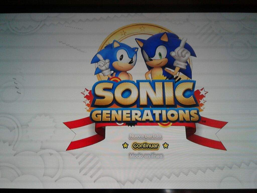 Sonic generations!!on ps4 by the way | Sonic the Hedgehog! Amino