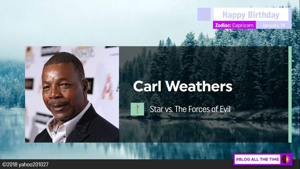 Happy Birthday Carl Weathers Svtfoe Amino
