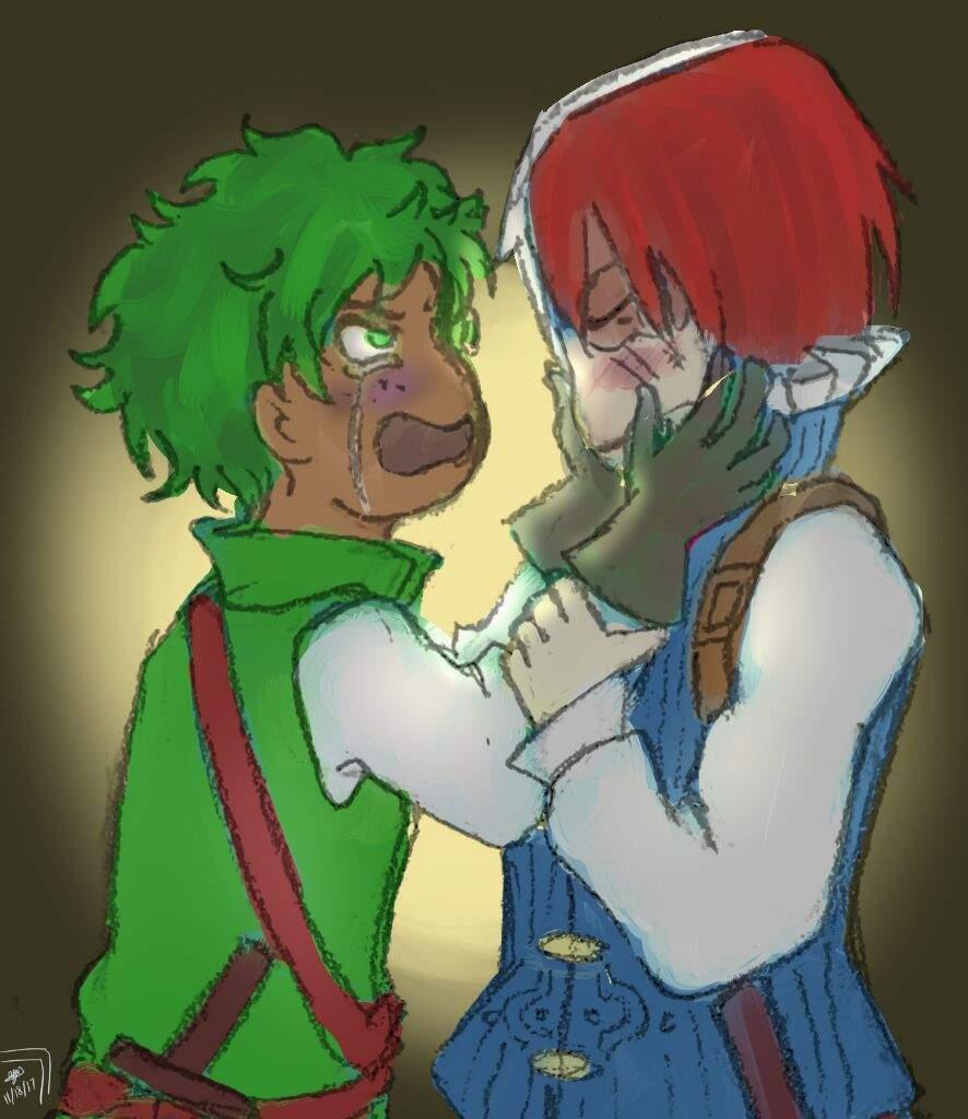 Tododeku Fantasy Au My Hero Academia Amino