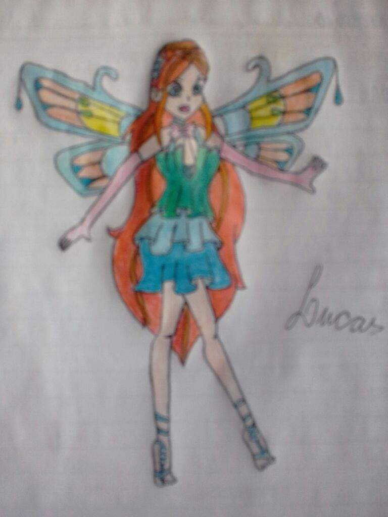 Enchantix Da Bloom Fanart Passo A Passo E Descricao Winx Club