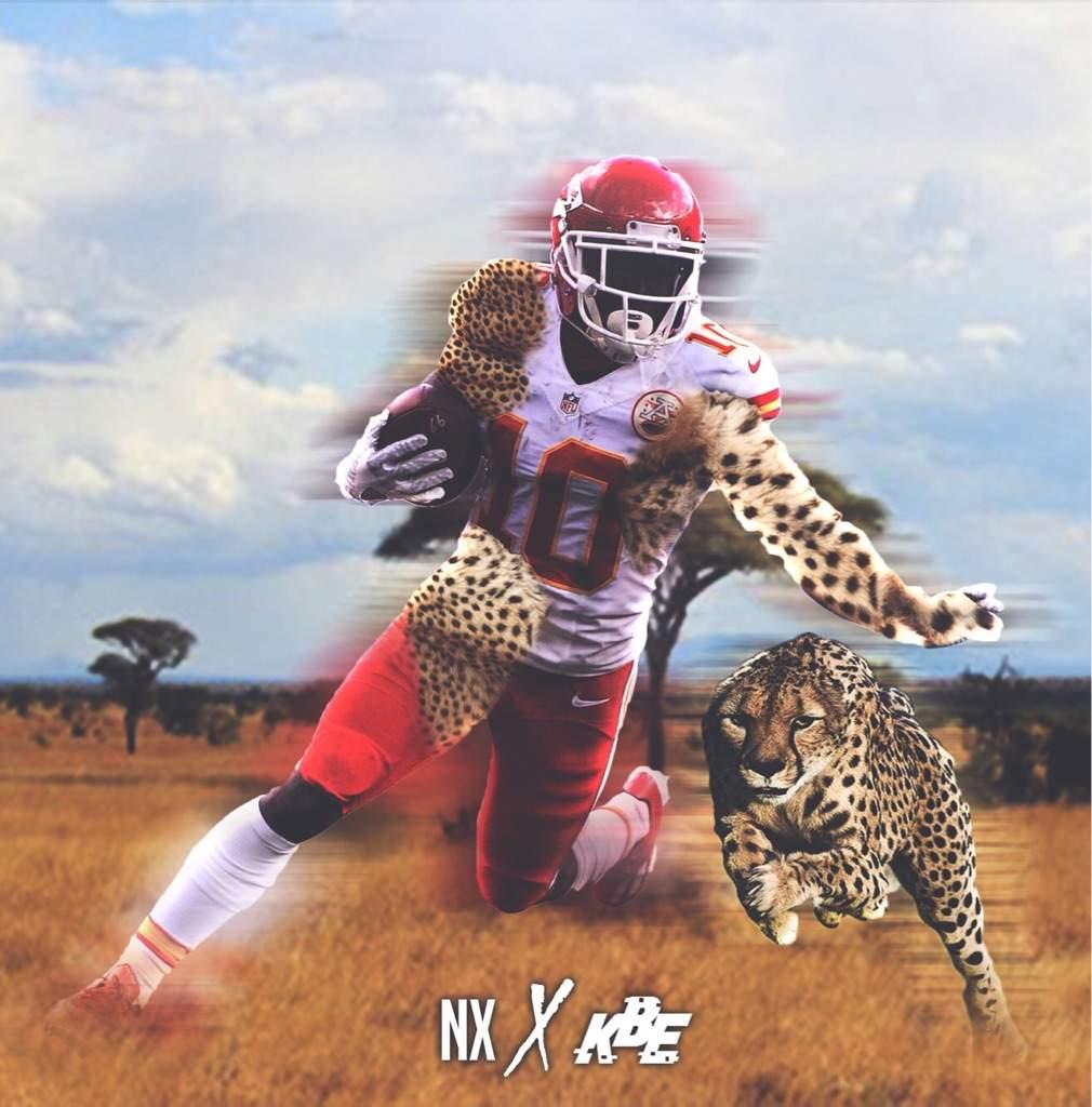 「tyreek hill cheetah」の画像検索結果
